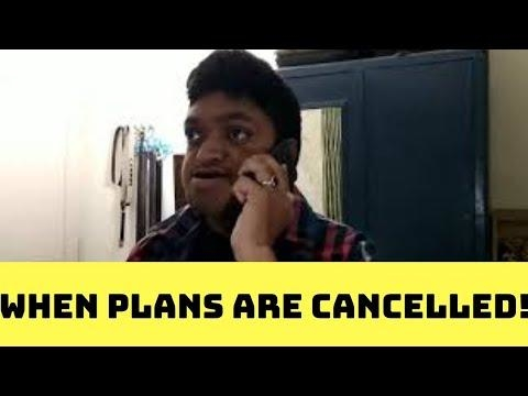 When Plans Are Cancelled - SamSakhareUniverse  #youtubecreators #youtuber #youtubevideo #youtubecreators #viners #vines #comedy #indian #samsakhareuniverse #youtubeindia