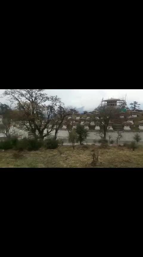 #bhutantrip #pagoda #mountains #hills #nature