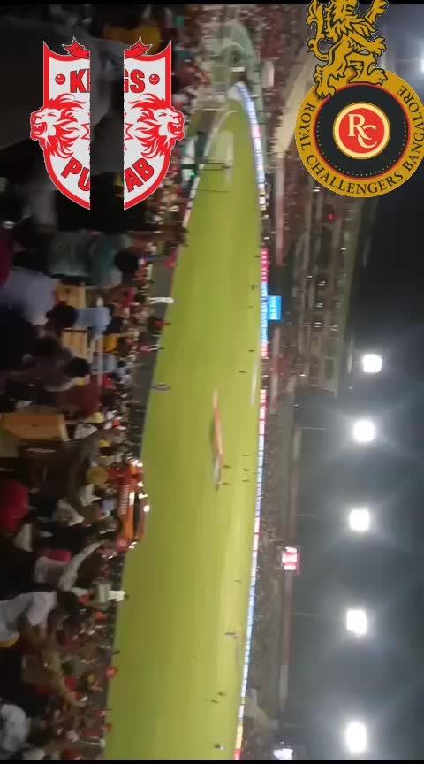 IPL match of kings eleven Punjab with royal challengers Bangalore 13-04-19 #ipl2019 #kingsxipunjab #rcb-kohli #sportstv #sportstvchannel #followmeonroposo