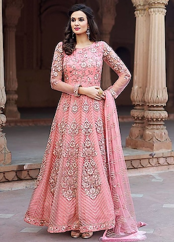 Light up your ethnic style with this #anarkali available @www.manndola.com  Grab Upto 65% OFF. Get additional 10% off on all orders above $199 using code EXTRA10 & extra 15% OFF by using code EXTRA15 !!  #newarrivals #newlaunch #partywear #ethnicwear #anarkali #net #embroidery #style #photography #instamood #instaupload #fashion #indianfashion #ethnic #usa #india #canada #australia #dubai #uae #mauritius #london #uk #shoponline