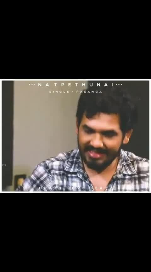 #hiphoptamizha #hiphop-adhi #natpethunai #tamilstatusvideo #gethu_moment #ropo-boy