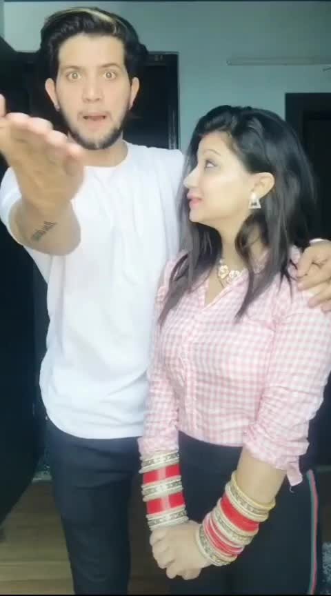 😂😂 #couplegoals #hahahaha #funnyvideos #couplecomedy #funnycouple #filmistaan
