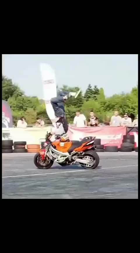 #bikes #stunts #bikestunts #bikers #amazingstunts #roposo #talent