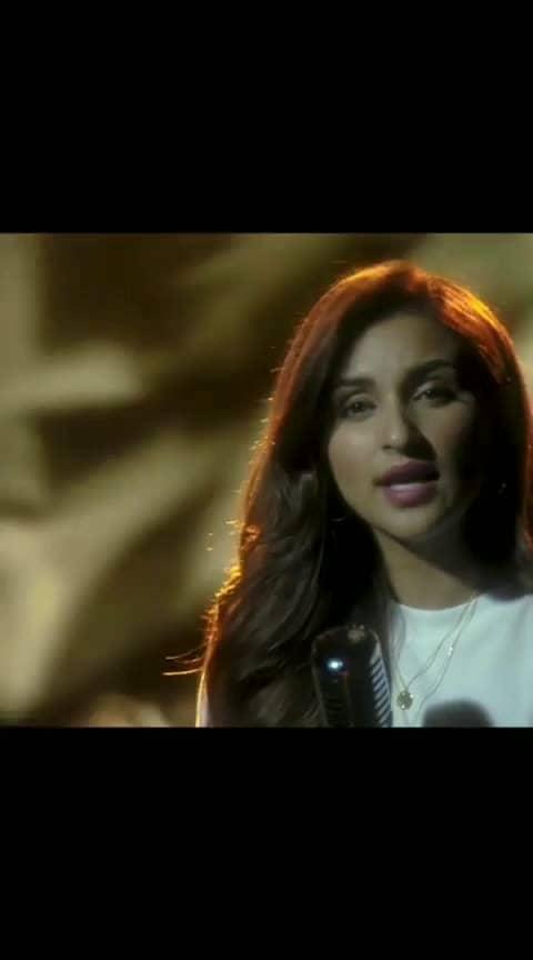 parneeti Chopra singing unplugged