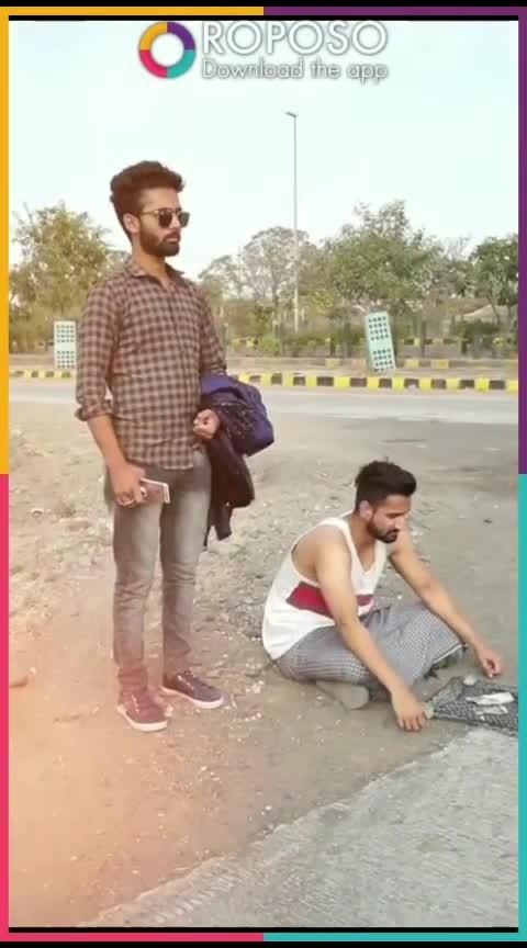 #crazy-Beggar-man #funny-creation
