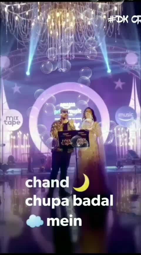 #chand #chupa #badal #mai