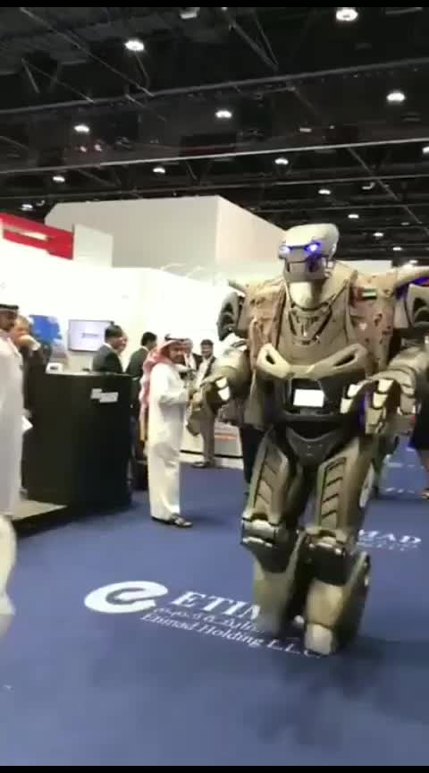 #robot  #bodyguard  of #uae  #king  #salman
