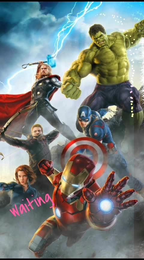 #avengersendgame  I am waiting