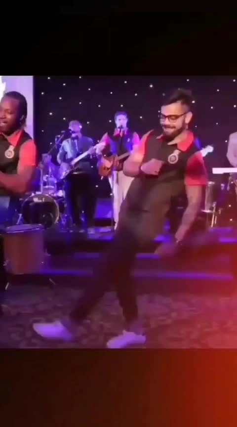 #viratkohli #roposo-dance #crisgayle #outstandingperformance