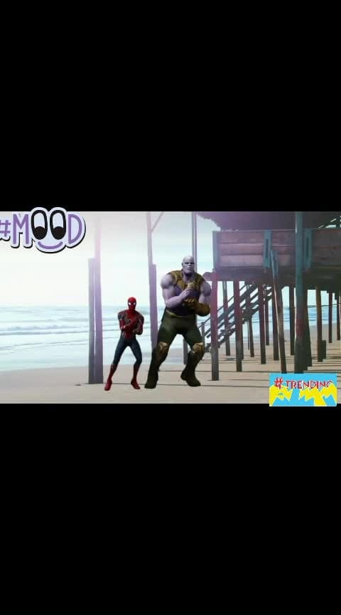 #roposo-hindi #roposo-tamil #avenger #spiderman #thanos #dance #trendeing