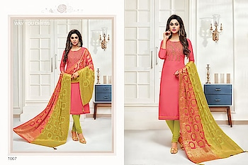SHAGUN KITTY PARTY WHOLESALE JAM SILK HANDWORK SALWAR KAMEEZ  #wonderful designer salwar kameez #latest jam silk dress #wwonderful handwwork  Pcs:	8 AVG. Price:	950 Full Price:	7600 Size:	Unstitched, Fabric:	JAM SILK  For more collections visit our website :- http://hellostyle.in/  Call or whatsapp :- +91- 7434983433  Website Link:-http://hellostyle.in/portfolio/shagun-kitty-party-wholesale-jam-silk-handwork-salwar-kameez/