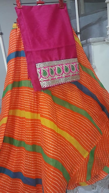 MAHIKAA COLLECTIONS LAUNCHES online selling of WOMEN FABRICS. BUY DIRECTLY FROM US USING PAYTM / BANK TRANSFER CONNECT WITH US AT info@mahikaa.in or WhatsApp : 7984456745.  Readymade Lehenga Skirt with Mix n match blouse with gotapatti border SKIRT  length 44 inch elastic waist adjustable 34 inch fabric kota checks with cotton lining  #saree #fashion #sareelove #sareeblouse #sarees #india #indianwedding #onlineshopping #indianfashion #indian #lehenga #indianwear #love #wedding #ethnicwear #style #traditional #silk #ethnic #mumbai #sareefashion #designer #fashionblogger #silksaree #beautiful #kurti #bollywood #handloom #instagood