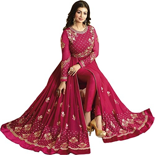 Glamify Women Georgette Semi-Stitched #Anarkali #Suit @ Rs.2160. Buy Now at http://bit.ly/2t36UJZ