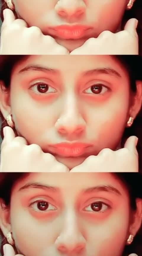 tum abhi mere ho #expressionism #bueaty-of-eyes #simplelook #nomakeup #roposoness #different-is-beautiful #unique-style #viralvideo