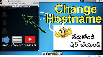 How to Change Hostname in Kali Linux(Step by step guide)#RSCOMPUTERS