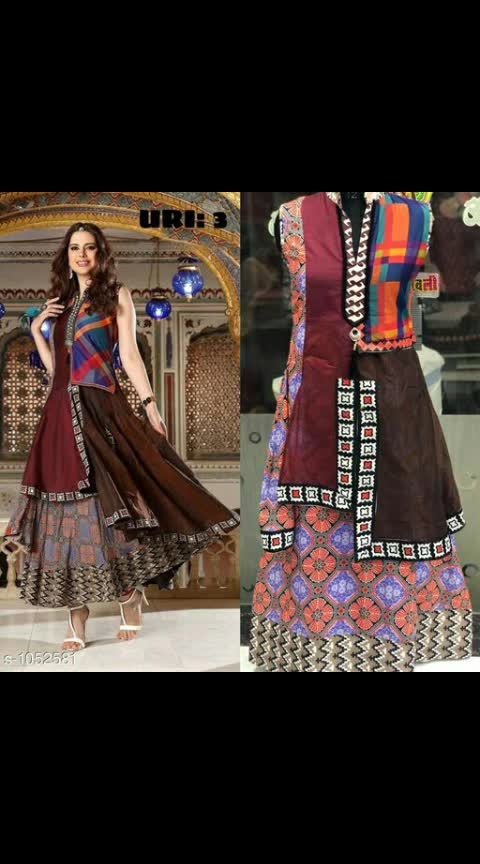 *Trendy Chanderi Cotton Kurtis Vol 1*  Fabric:   Chanderi Cotton  Size: L - 40 in, XXL- 44 in  Length: Up to 54 in  Type: Stitched  Description: It Has 1 Piece Of Women's Kurti  Work: Printed  Dispatch: 5 -7 Days  Easy Returns Available In Case Of Any Issue 950 Only #chandericotton #kurti #printed #shopwithme #buyitnow #thebazaar #cashondelivery #followusonroposo