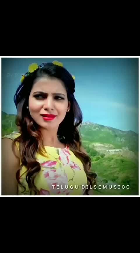 gundello matalni niketta chappalantu #love_beats ##alluarjun #samantha #love_whatsapp_status