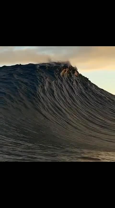 #Mesmerizing wave #natureshots