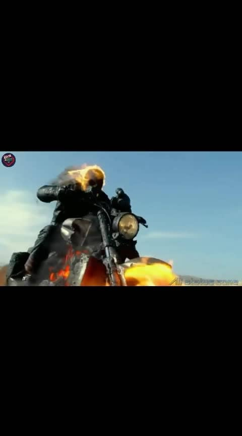 I want to be a rider like #GHOST RIDER