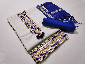 Classic Embroidered Suits with Beautified Banarasi Dupatta...💕 Price:- 799/- Top- Cotton Jacquard, Bottom- Cotton, Dupatta- Banarasi Gota Patti work To Order Whats-app us (+91) 8097909000 * * * * #salwar #salwarsuits #dress #dresses #longsuits #dressmaterial #banarasisupatta #suitswithdupatta #suitsonline #embroidered #onlinefloralsuit #floral #printedsuits #printed #straightsuits #dupatta #designerdupattaonline