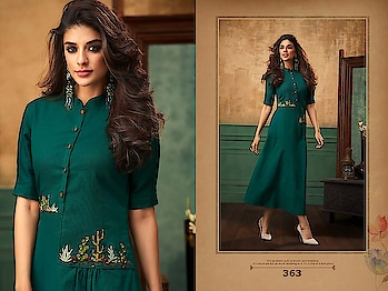 Designer Party-wear Indo-Western Fancy Kurtis...🎀 Price:- 1199/- Size available 👉 M(38),L(40),XL(42),XXL(44) To Order Whats-app us (+91) 8097 909 000 😊 * * * * #kurtis #kurti #onlineshop #onlinekurtis #kurtisonline #dress #indowestern #ethnicwear #gowns #fashion #printed #printedtops #ethnic #womenwear #style #stylish #love #socialenvy #beauty #beautiful #onlineshoppingq