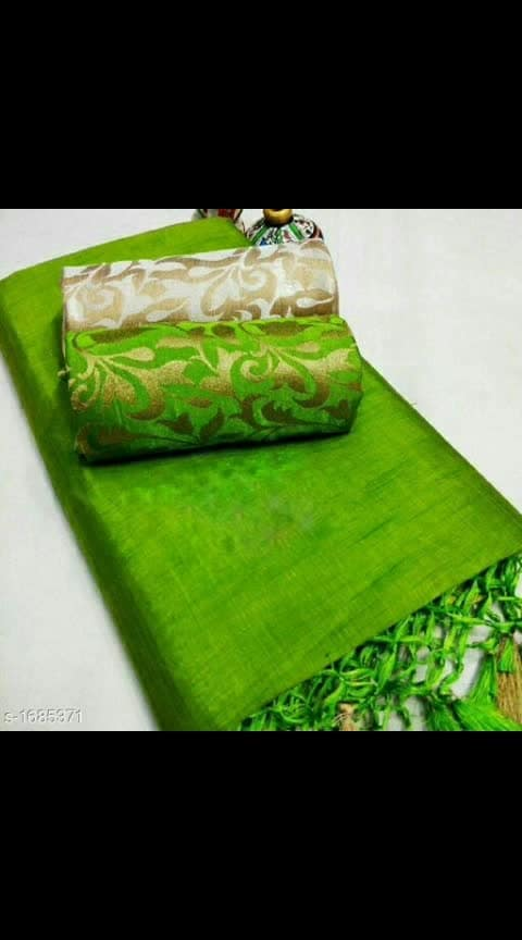 Fashionable Chanderi Cotton Saree Note: This statue Is Only For Catalog Purpose Fabric: Saree - Chanderi Cotton, Blouse - Chanderi Cotton , Extra Blouse -Chanderi Cotton Size: Saree Length - 5.5 Mtr, Blouse - 0.8 Mtr ,Extra Blouse - 0.8 Mtr Description: It Has 1 Piece Of Saree With 2 Pieces Of Blouses  Work: Saree- Tassel Work , Blouse- Zari Work #chandericottonsaree #saree #shopwithus #buyitnow #thebazaar #cashondelivery #followusonroposo