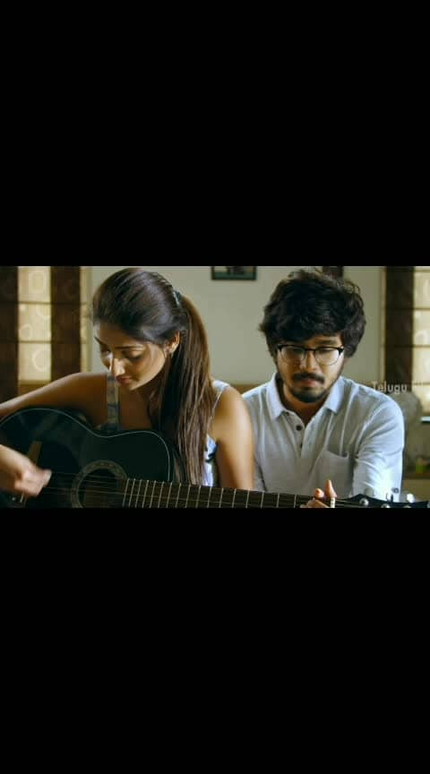 Priya Vadlamani Romantic Scene 🥰🎸🥰❤️ #priyavadlamani #hushaaru_video_song #hushaaru #liplock #liplocked #lipkiss