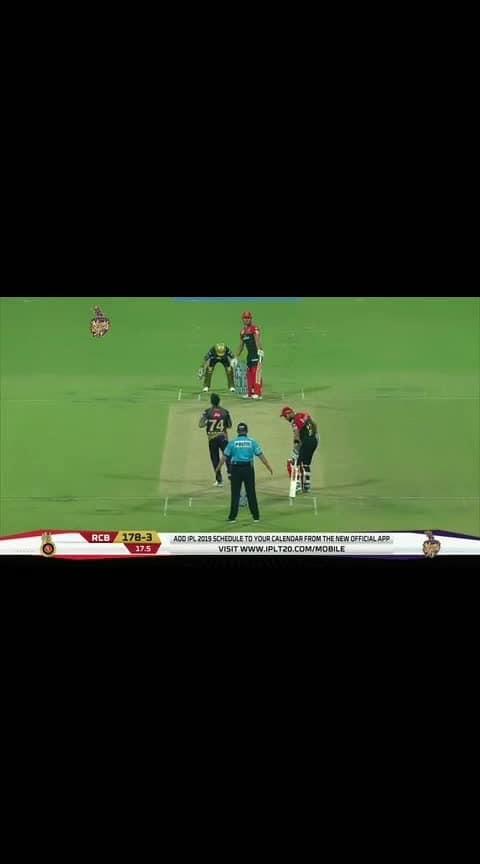 Mankading_me?_NO,_says_Virat. #roposo #cricket #iplfever #kingkohli #havingfun #narine #roposo-funny #funnymomments #hahatv #hahachannel #