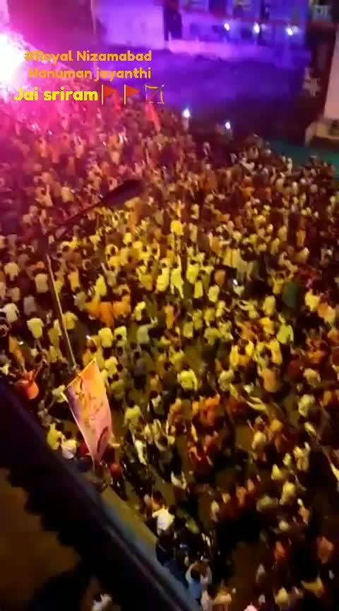 #veera #hanumanjayanti #shobhayatra #nizamabad #nizambad #jaisriram