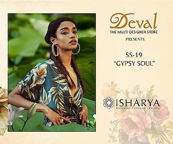 Boho chic jewellery by Isharya for Summer at Deval The Multi Designer Store!! For more details please call/whatsapp us +91 98984 22000 #devalstore #designerstore #desognerwear #pocketsquare #summertravel #designercollection
