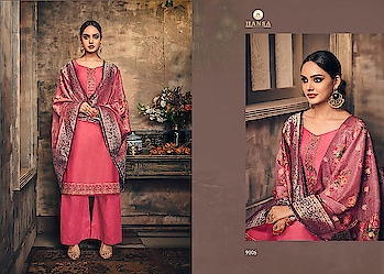 hansa print husna banaras vol 9 exclusive collection of salwar suits online  #wonderful designer dress #latest designer dress #fantastic material  Catalog	HUSNA BANARAS VOL 9 Pcs	8 AVG. Price	1495 Full Price	11960 Full Price With Gst	12558 Size	Unstitched,  For more collections visit our website :- http://hellostyle.in/  Call or whatsapp :- +91- 7434983433