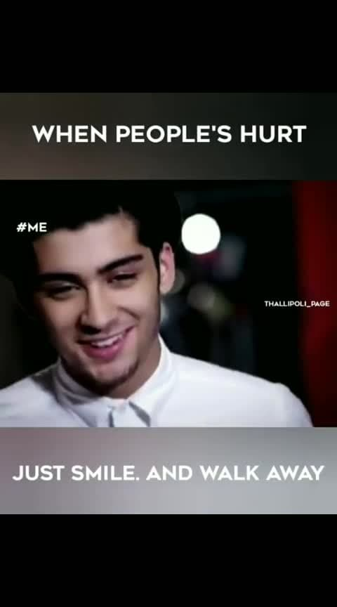 #Just #Smile #And #Walk #Away 😊😊😊