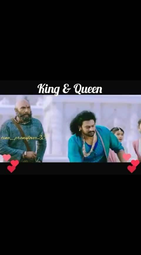 #royal_status #bahubali2 #prabhas #anushkashetty #whatsapp_status_video #love_birds