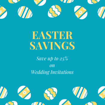123WeddingCards offering you a wide collection of best and exclusive wedding invites, you can save 25% discount on your wedding invites and get best deals on Easter offer.  Get Deal: https://www.123weddingcards.com/offers  #Easter #Weddingssale #EasterWeddings #EasterSaves #Easteroff #happyEaster2019 #Easterdiscounts #WeddinginvitationSale #WeddingInvitationsdiscount #Weddingcards #123WeddingCards