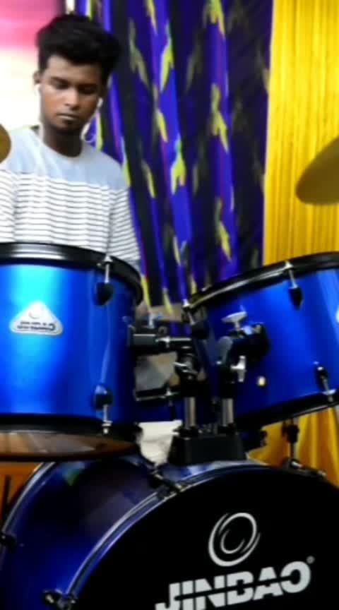 #music_lover #roposo-tamil #musicvideo #drummer #vijaydevarakonda #sidsriram