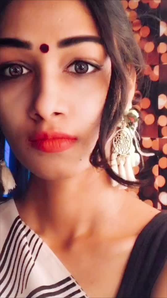 #ropo-girl #shevanta  #marathilook #roposo-lipsync