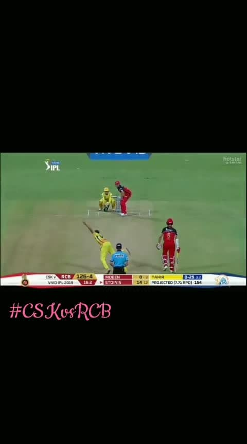 catch of the day....!!!!!  #cskvsrcb #catch #cskians #beaing-rcbian #matchday #ipl2019 #iplfever #iplcontest #ropososports #sportschannel #sportstv #roposoness