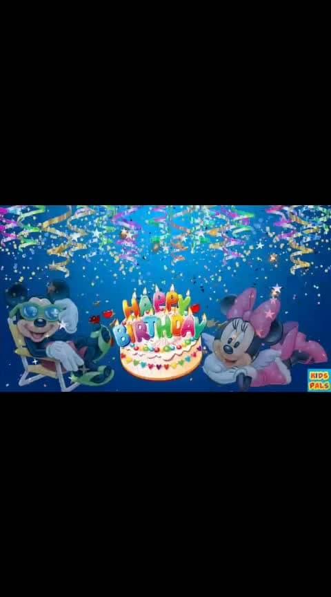 #birthdaysong 💕💕