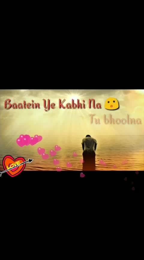 baatein ye kabhi na #best-song #all-actors #india-proud #roposo #new #hindi #song #allstar #indianactor #ropos #viralvideo #ropo #roposo-wow