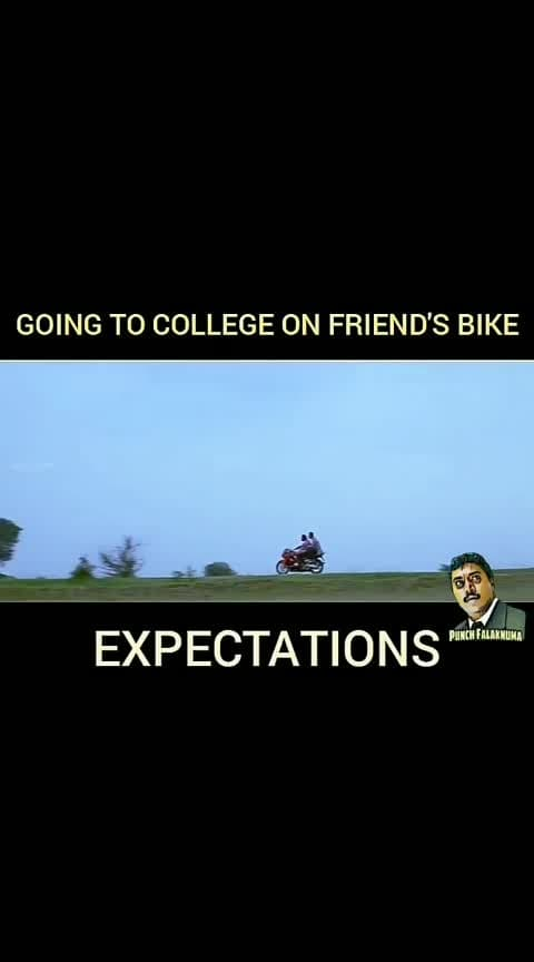 #college #bike#driving #friends #collegedaires #roposo-fun