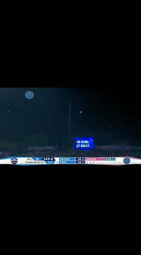 M40: RR vs DC – Match Highlights #roposo-sport  #sportstv  #rr  #dc  #cricket  #matchhighlights #rrvsdc  #vivoipl