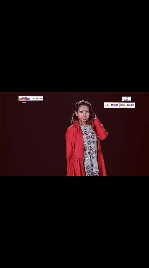 Watch my #tvshow   #fashion #styles #beauty #mumbaifashionblogger