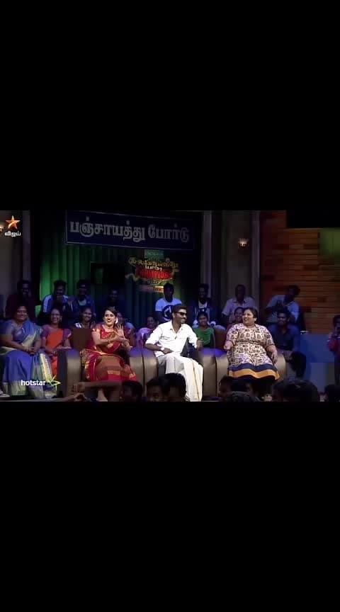 #roposo-haha #vijaytvshow  #kalakapovathuyaaru  #thangadurai