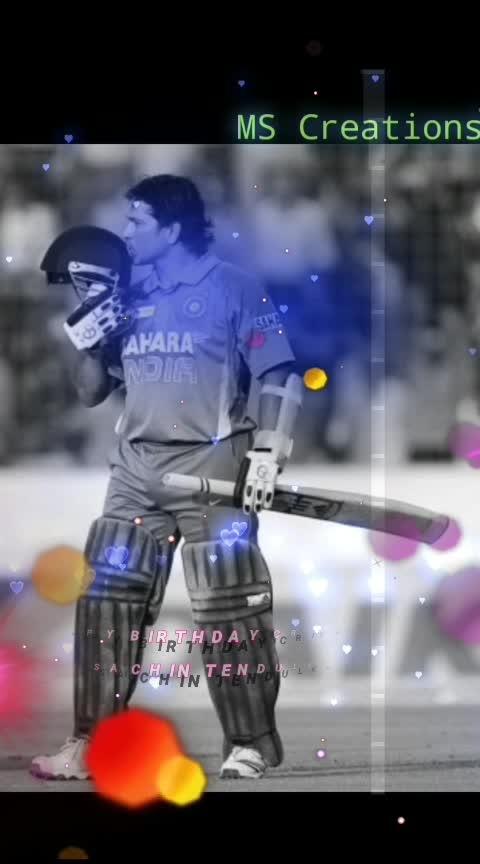 happy birthday Sachin  #ropososports #roposobirthdaywishes