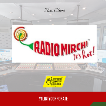 Now India's Favourite Radio Station is one of our Happy clients! Tune into #RadioMirchi while also checking out our #quirky products  #happycorporateclients #quirky #flintstop #clients #corporategifting #radio #happy #gift