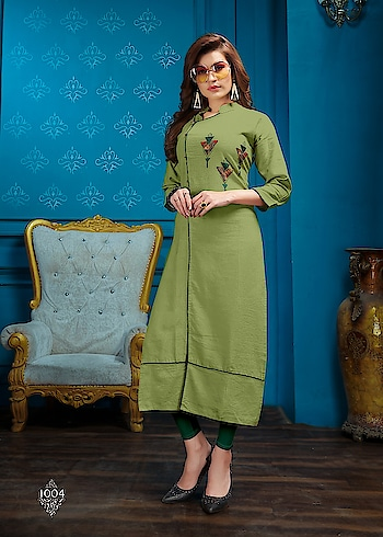 SIYAJI PERFUME COTTON READYMADE KURTAS WHOLESALE SUPPLIER IN SURAT MARKET  Catalog	PERFUME Pcs	8 AVG. Price	510 Full Price	4080 Full Price With Gst	4284 Size	Full Stitched,M, L, XL, XXL Fabric	COTTON   For more collections visit our website :- http://hellostyle.in/  Call or whatsapp :- +91- 7434983433