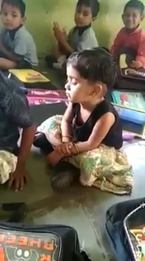 #sweet  #little  #girls  #sleeping  in the #classroom