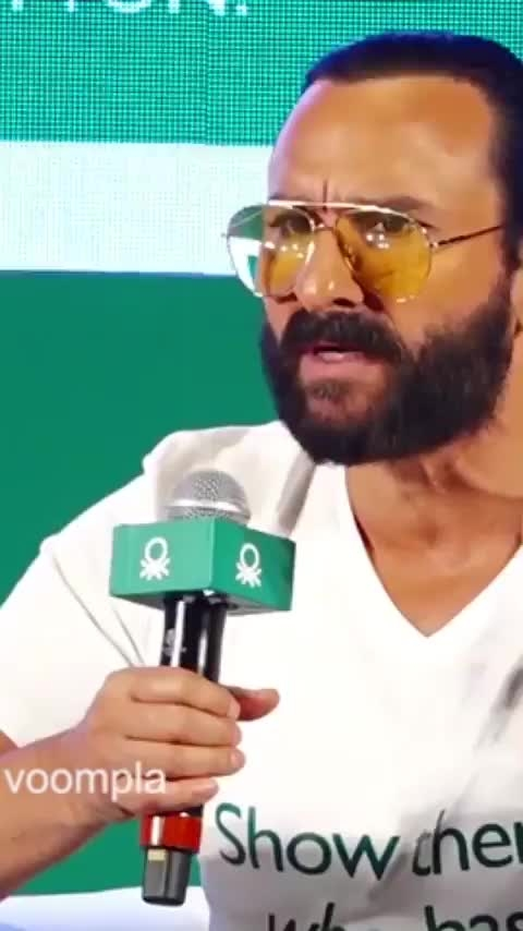 Saif has some good advice for the voting population of this country! #SaifAliKhan