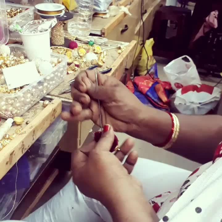 Creative hands at work !  Wedding season at the studio  #roposo #roposolove #roposofashion . . . . #label #bhavnachhabria #bespoke #couture #pret #designerdiaries #designerwear #indianwedding #indiancraft #weddingdiaries #weddingseason #trousseau #creativebiz #creativepreneur #fashiondiaries #madewithlove #handmade #bengalurudesigner #instagood #instalike #madetoorder #weddingblouse #latkan #instabride #instawedding