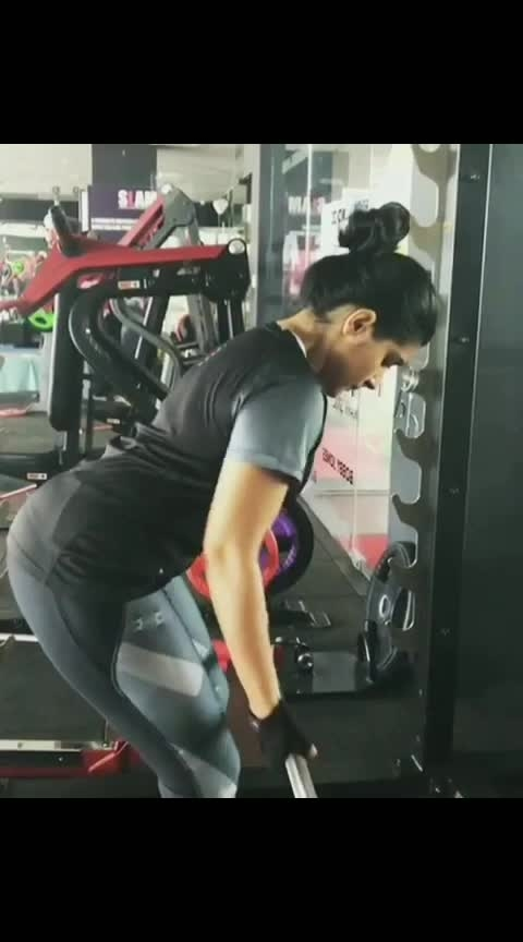 nivetha Thomas gym #actress  #allstar  #roposo-talent #indian #talent #gym #fitness #fitgirl #actressstyle #gymchick #indiantalents #allvideo #gymfreak